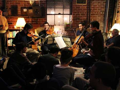 Chamber Music House Parties - Groupmuse is a Service That Hires Chamber Musicians for Millennials