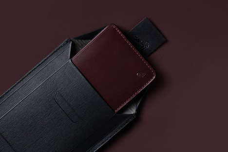 Envelope-Style Wallets - These Wallets Were Designed in a Collaboration Between Bellroy and Barneys