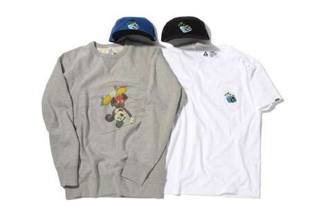 Skateboarding Mouse Apparel - These CHALLENGER Designs Feature a Rebellious Version of Mickey Mouse