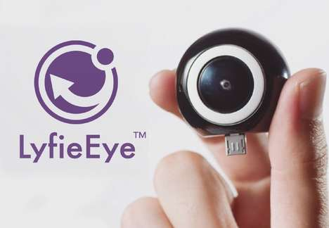 360-Degree Smartphone Cameras - The 'LyfieEye' 360-Degree Smartphone External Camera is Easy to Use