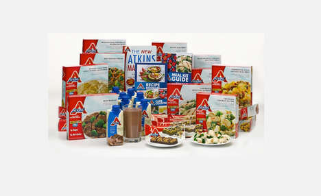 Low-Carb Meals Kits - Atkins Now Offers Meals Kits for Those Who Adhere to a Low-Carb Diet