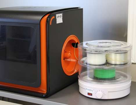 Moisture-Balancing Printer Devices - The 'PrintDry' Print Filament Dryer Ensures Even 3D Printing