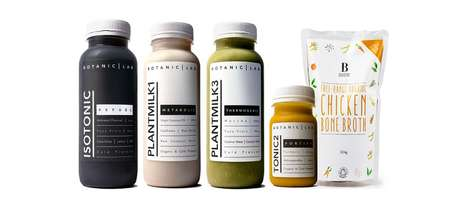 Bone Broth Cleanses - Botanic Lab's Drink Cleanse Addresses Protein During a Detox