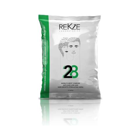 Hair Growth Wipes - Rekze Laboratories' Personal Care Wipes Discourage Hair Loss
