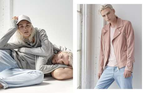 Unisex Denim Collections - The Guess 'His + Hers' Collection Offers a Range of Gender-Neutral Styles