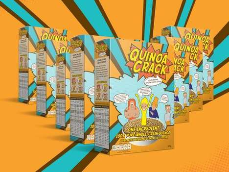All-Quinoa Cereals - 'Quinoa Crack' is a Superfood Cereal Made with Just One Ingredient