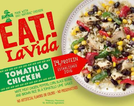 Latin-Inspired Frozen Entrees - Bellisio Foods' 'EAT! LaVida' Embraces Latin American Cuisine