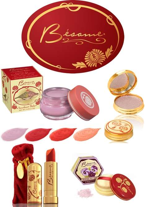 1920s-Inspired Makeup Collections - Bésame Cosmetics is Offering Products Inspired by the 20s