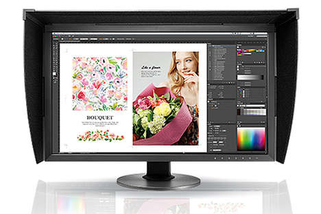 Professional-Grade PC Monitors - The Eizo ColorEdge CG2730 and CS2730 27-Inch Monitors are Powerful