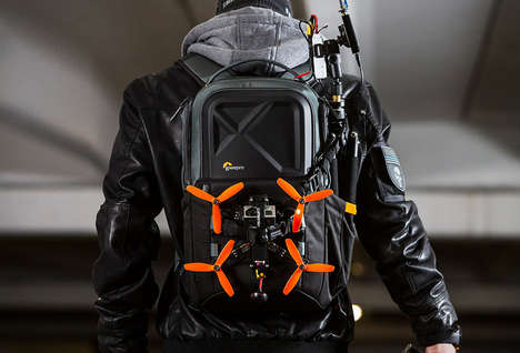 Drone-Carrying Backpack Bags - The Lowepro Drone Backpacks Keep Equipment Secure During Transport