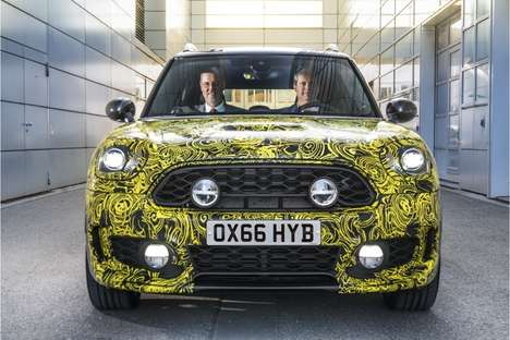 Miniature Efficient Hybrid Cars - The New MINI Hybrid Expands the Capabilities of the Compact Car