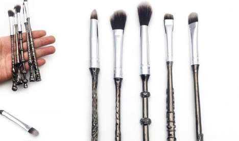 Fantasy Franchise Cosmetics - The Harry Potter Storybook Cosmetics Makeup and Brushes are Magical