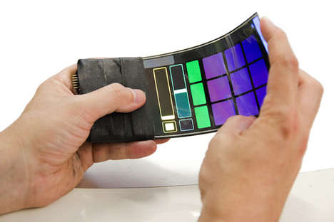 Flexible Musical Phones - The WhammyPhone Uses Flexible Screen Materials to Play Music