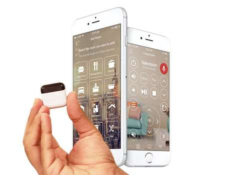 Universal Smartphone Remotes - The 'KlikR' Remote Control Device Turns Smartphones into Controllers