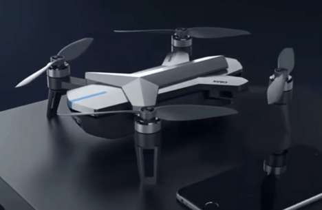 Social Media Drones - Tencent's Ying Drone is Specifically for Capturing Footage on China's WeChat