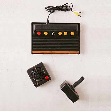 Modernized Retro Game Consoles - The Atari Flashback 7 Recreates the Classic Atari 2600 Console