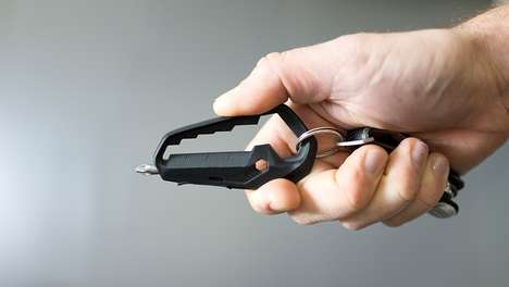 Lightweight Multi-Functional Tools - This Clip-On Tool Can Be Used for a Variety of Circumstances