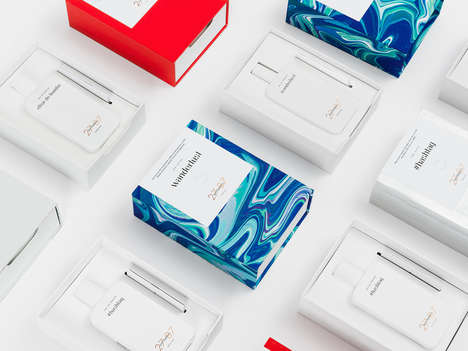 Smartphone-Inspired Scent Bottles - The 27 87 Perfume Branding is Targeted Towards Millennials