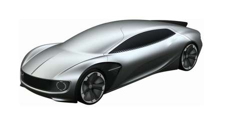 Windshield-Free Car Concepts - Volkswagen's Coupe Concept is Designed for Autonomous Driving