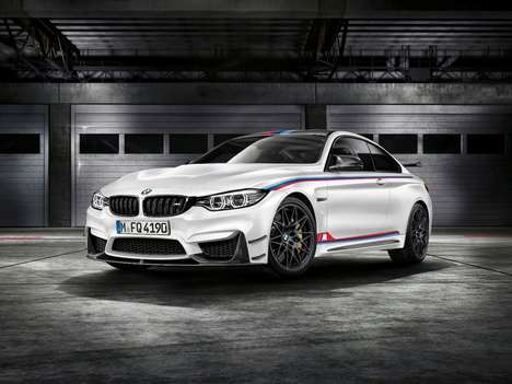Rambunctious Racing Cars - The BMW M4 DTM Champion Edition Offers Turbocharged Engine Performance
