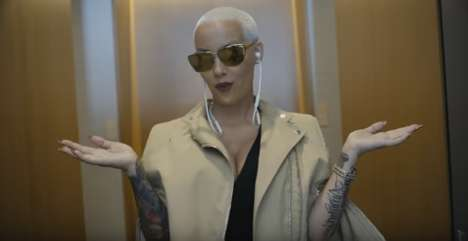 Star-Studded Headphone Ads - The New Beats By Dre are Promoted by Amber Rose, Pharrell & Many More