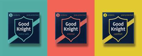 Subtle Condom Branding - This Condom Brand Avoids Cliches in Its Design Theme