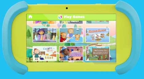 Kid-Focused Tablets - PBS's Playtime Pad is a Tablet for Kids Loaded with PBS Apps and Games