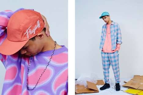 Cuban-Inspired Menswear - F-LAGSTUF-F's Spring/Summer Line Boasts Unconventional Prints & Colorways