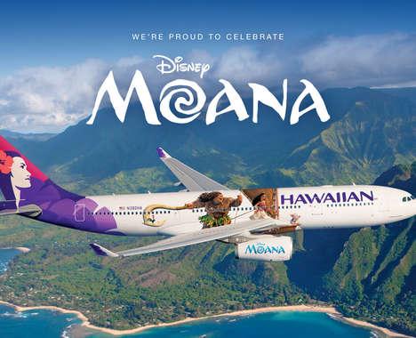 Disney Princess-Themed Aircraft