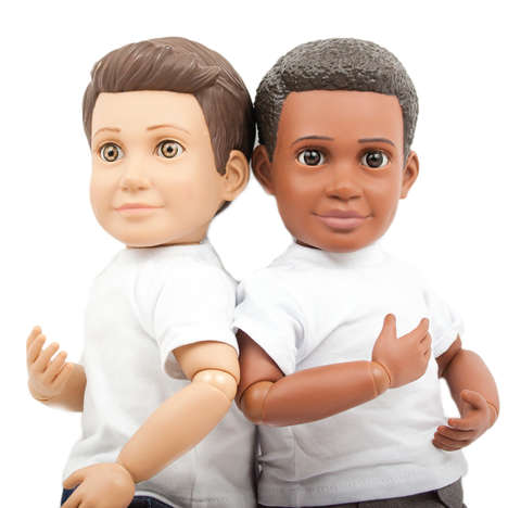 Boy Action Dolls - These Boy Dolls are Crushing Old Gender Stereotypes with Fun for All Kids