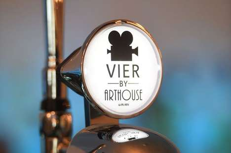 Retro Movie-Themed Bars - Liverpool's 'Arthouse Bar' is Inspired By Classic Black-and-White Films