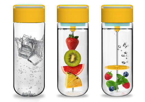 30 Infused Water Innovations - From Stylish Fruit Infusion Bottles to Water-Flavoring Vessels