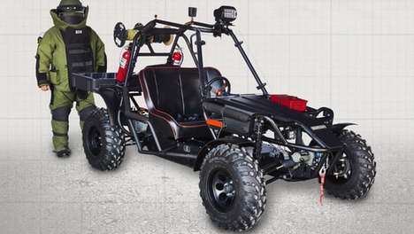 Bomb-Disposal Buggies - This Battery-Powered Vehicle Helps Bomb Disposal Experts Do Their Job
