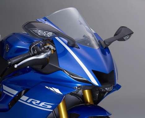 Souped-Up Sport Motorbikes