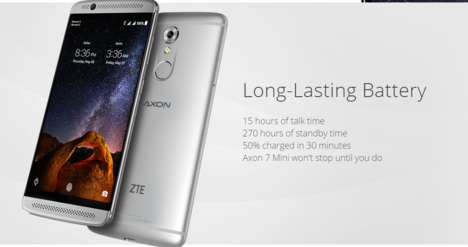 Affordable Premium Phones - The Axon 7 Mini Offers a Number Of Premium Features At a Low Price
