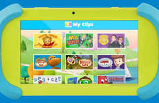 Child-Centric Entertainment Tablets