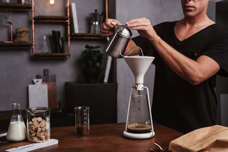 Connected Coaching Coffee Brewers - The Goat Story 'Gina' Coffee Brewer Guides Users on How to Brew