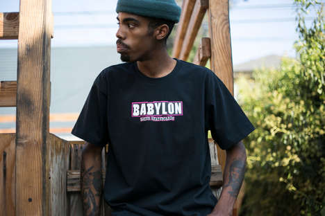 Simplistic Skateboard Capsule Lines - This New Babylon LA Series Was Made with Baker Skateboards