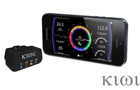 Fuel-Saving Dashboard Devices - The 'Kiwi' OBD Device Provides Data Logging, Fuel Savings and More