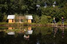 Modular Garden Pavilions - Casper Schols' 'Garden House' Has Sliding Walls that Offer Many Layouts