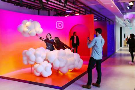 Photogenic Office Spaces - The New Instagram Office Was Inspired by the App's Content