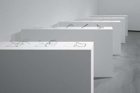 Doodle-Inspired 3D Objects - Nendo's Distinctive Art Technique is on Display in Tokyo