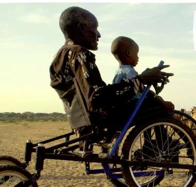 Open-Source Wheelchair Designs - The 'Safariseat' is Designed for People in Developing Countries