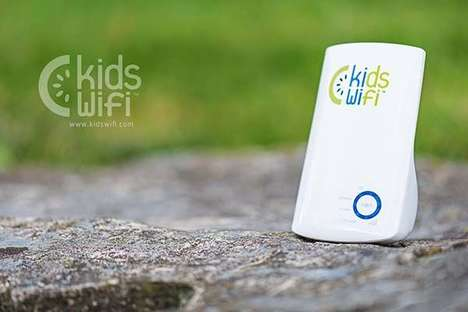 Internet-Filtering Routers - The 'KidsWiFi' Router is an Internet Solution to Control Access
