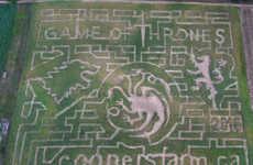 Fantasy Corn Mazes - Cooper's CSA Farm and Maze Built a Game of Thrones-Themed Corn Maze