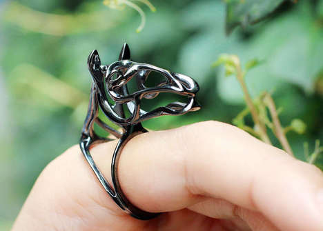 Charitable Wildlife Jewelry - Profits from aoku 3D's Unique 3D-Printed Jewelry Goes Towards Charity