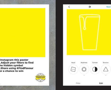 Interactive Beer Posters
