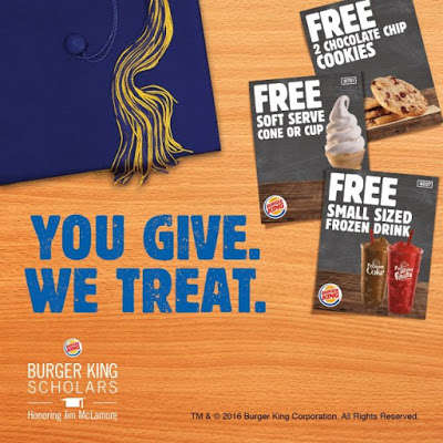 Fast Food Coupon Books - Burger King is Giving Away Coupons to Those Who Donate to Its Foundation