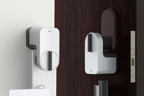 Smart Home Locks - Sony's 'Qrio' is Designed as a High-Tech Key Replacement