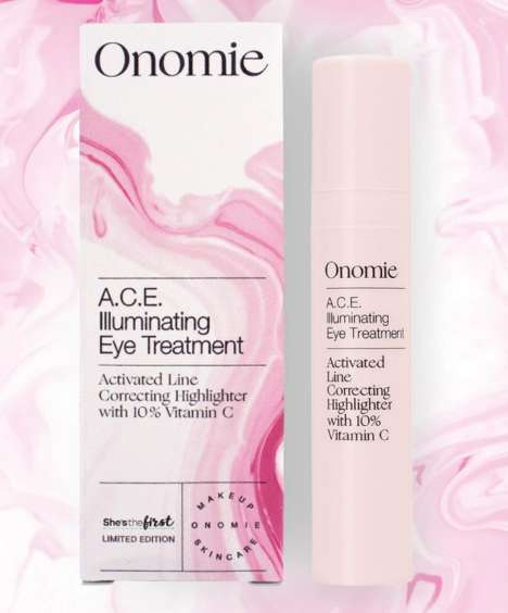 Skin-Treating Highlighters - Onomie's Illuminating Eye Treatment Does Two Things at Once